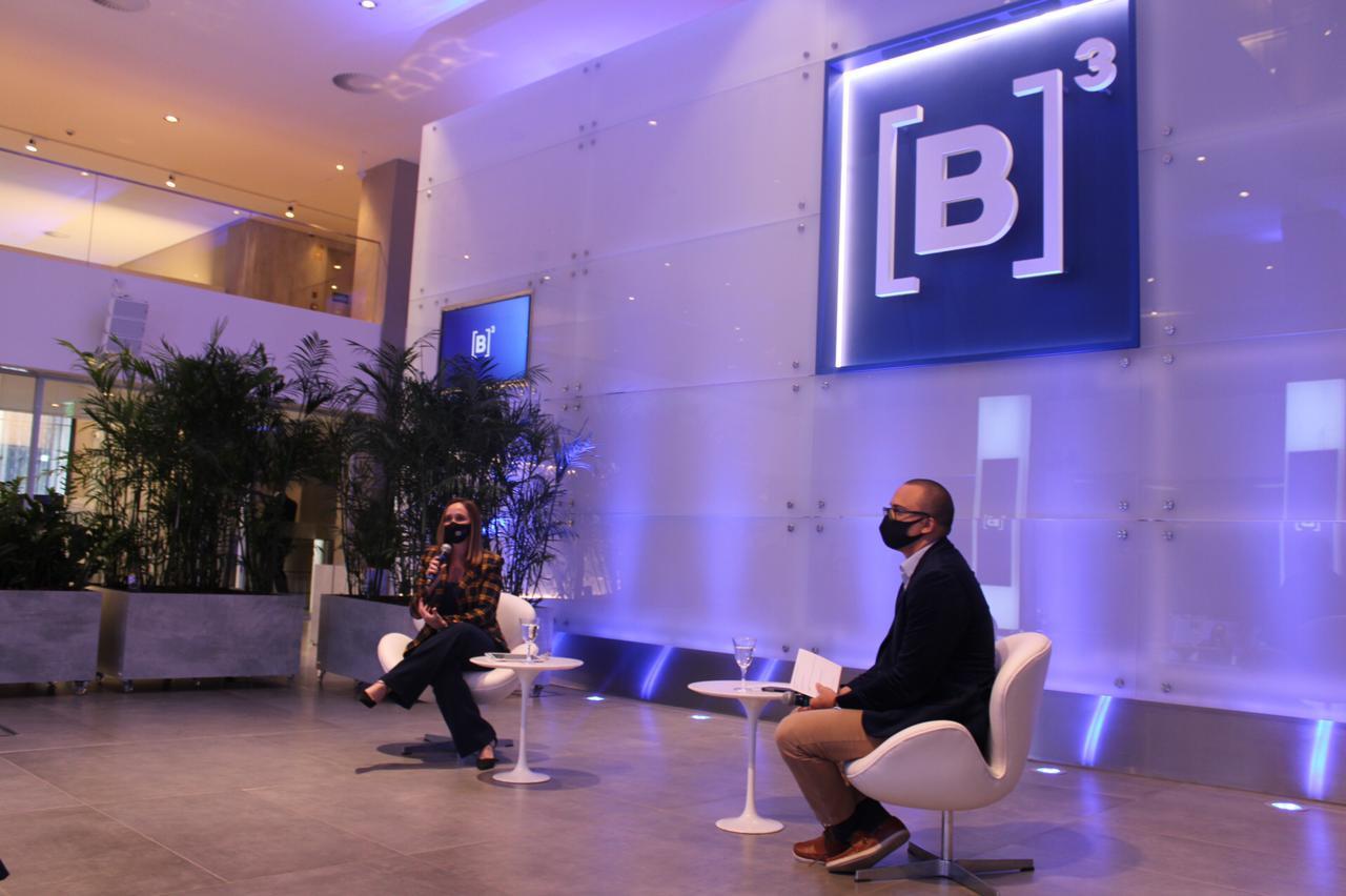Reunião na sede da Bolsa de Valores, a B3, atraiu muitos investidores. Crédito das fotos: Comunicação PPP Piauí.