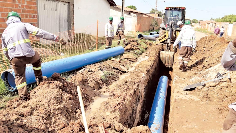 Investimentos em esgotamento sanitário eleva patamar do saneamento na capital | FOTO: Raíssa Morais