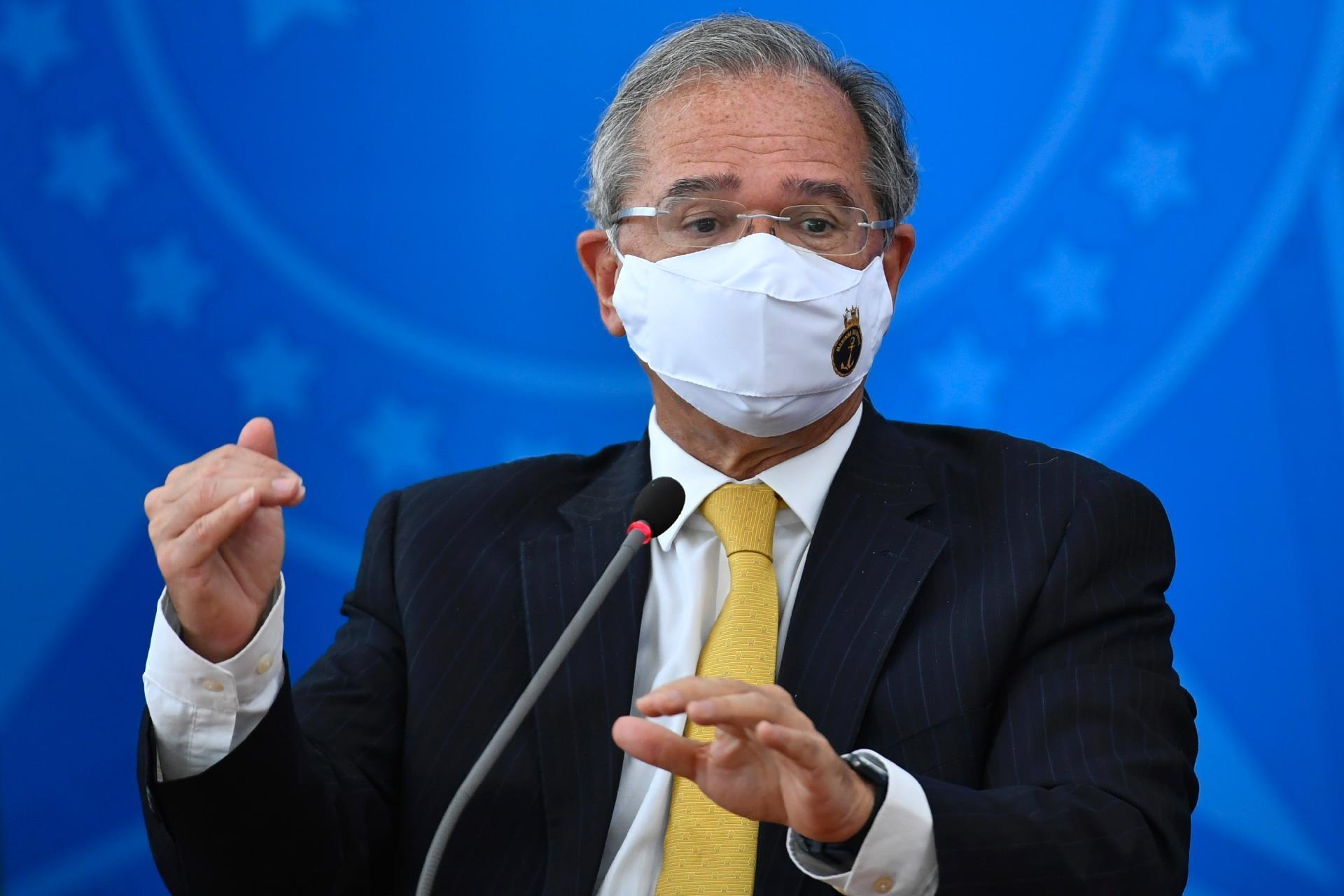 Ministro da Economia, Paulo Guedes - Imagem: Mateus Bonomi/AGIF/Estadão Conteúdo