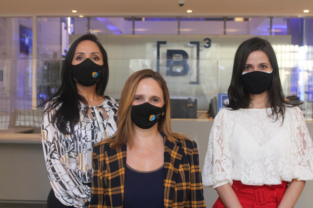 Equipe de apresentação da PPP da Transcerrados na Bolsa de Valores.