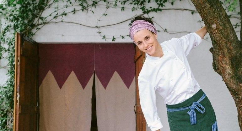 Helena Rizzo é anova jurada do Masterchef/ crédito:Roberto Seba