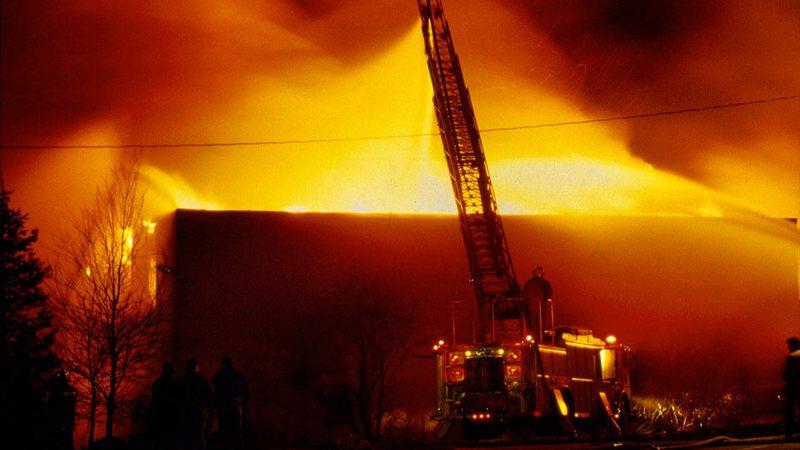 Incêndio (Foto: reprodução)
