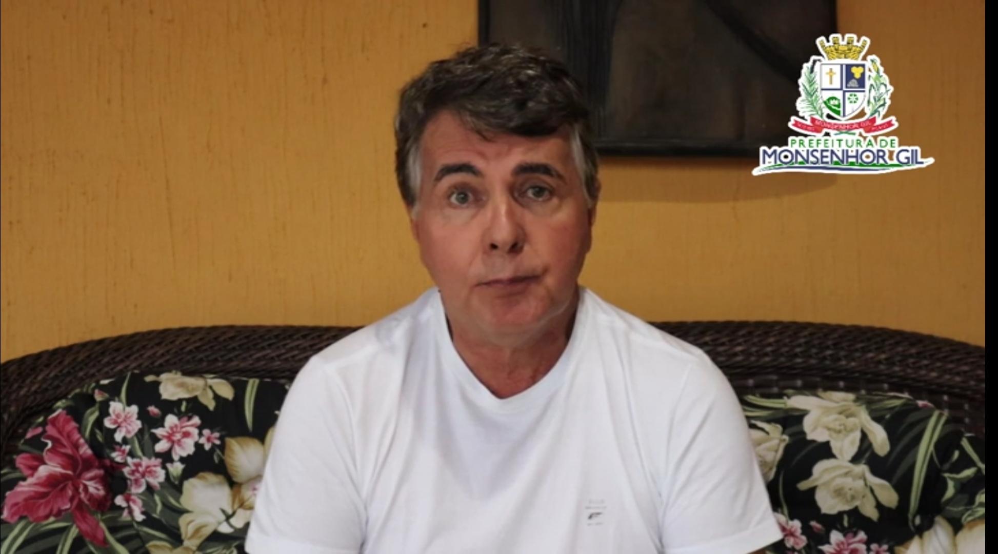 Covid-19 - Prefeito João Luiz grava mensagem e faz apelo e um alerta para população - Imagem 2