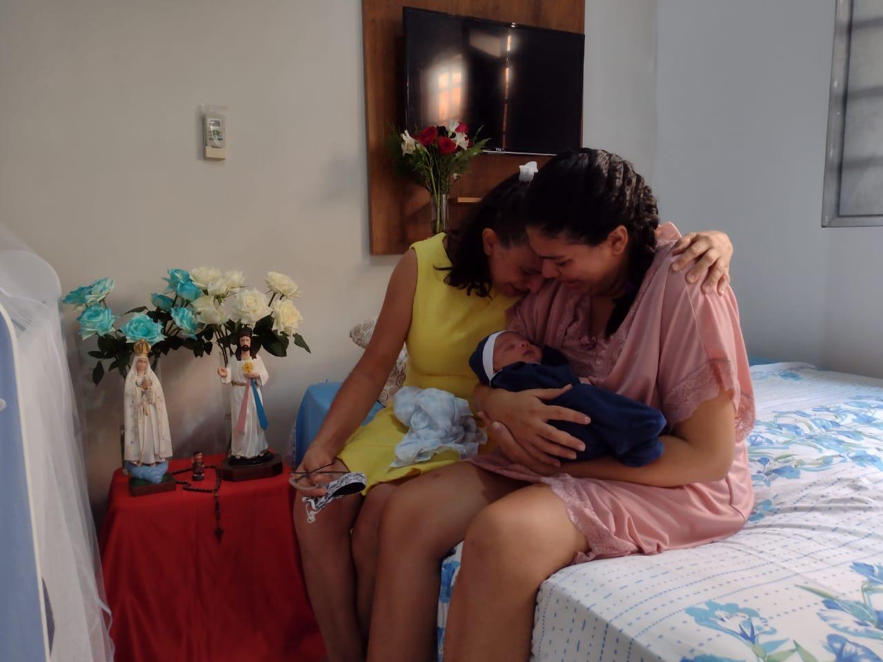 Mãe esperou 20 dias para encontrar o filho