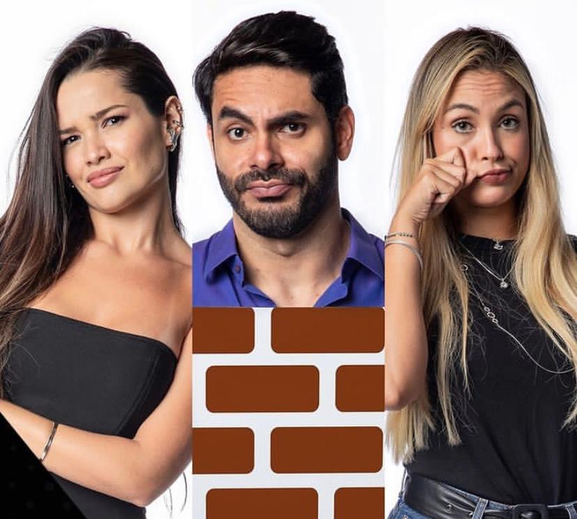 Juliette, Rodolffo e Sarah formam o 9º paredão do BBB 21