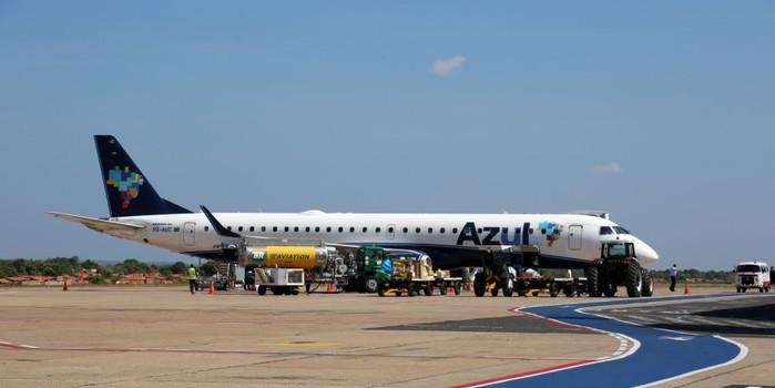 """""""Kits intubação"""" chegam a Teresina às 12h de terça (30) em voo da Azul"""