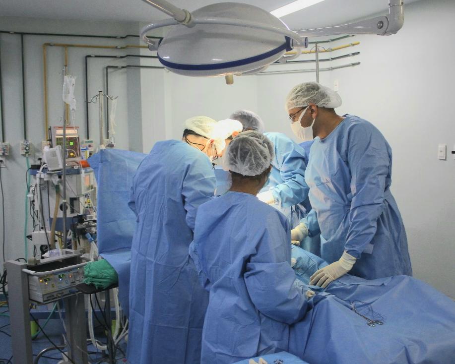 Transplante de rim é realizado no HGV