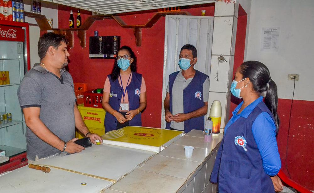Vigilância Sanitária realiza Blitz Educativa - Imagem 1