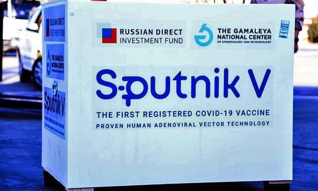 Sputnik V (Foto: SAEED KAARI /AFP)