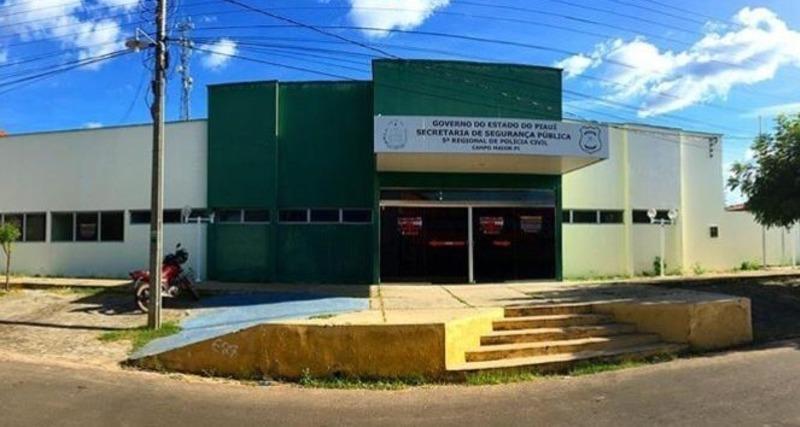 Delegacia de Campo Maior - Foto: Portal de Campo Maior