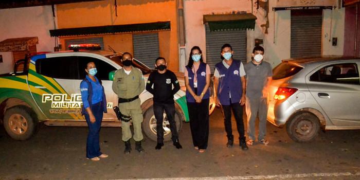 Vigilância Sanitária realiza Blitz Educativa