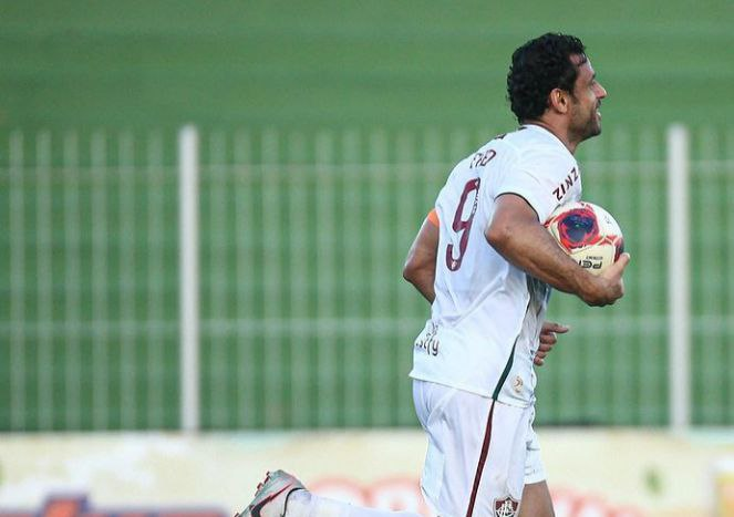 Jogador Fred do Fluminense (Foto: reprodução)