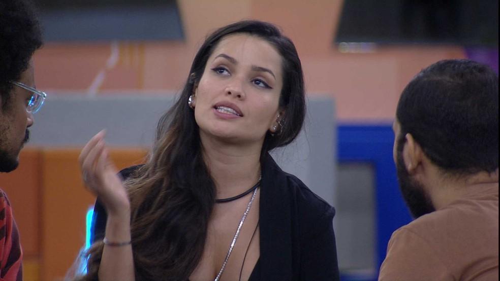 """Gilberto pede desculpas a Juliette: """"Eu estava no auge da minha raiva"""" — Foto: Globo"""