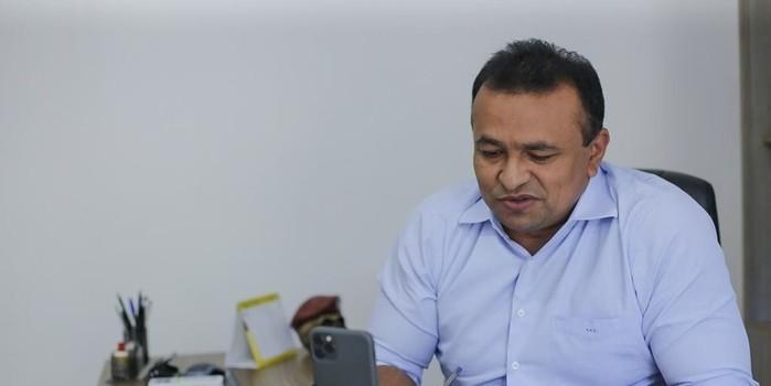 Fábio Abreu agradece W.Dias por prioridade de policiais em vacinação