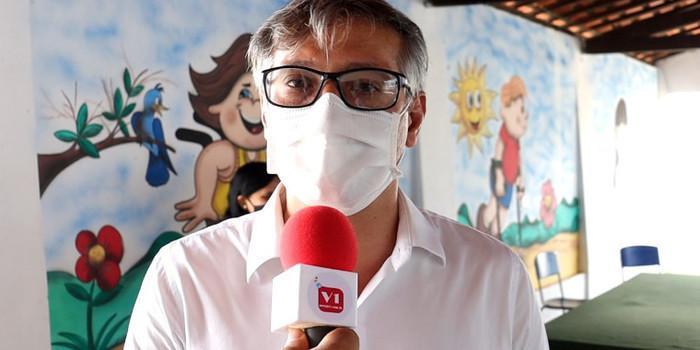 Prefeito Marcelo Costa pede que população ajude no combate a covid