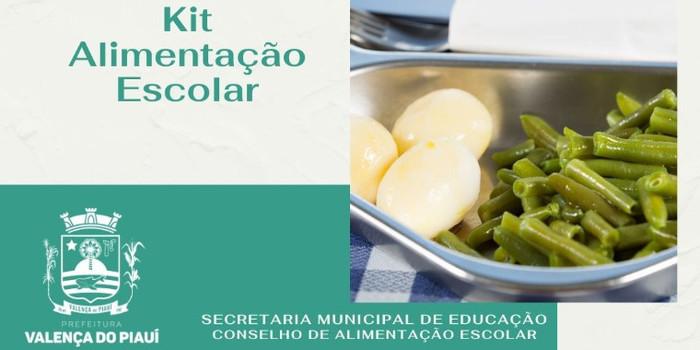 Prefeitura de Valença distribuirá kits de alimentação aos alunos da rede municipal