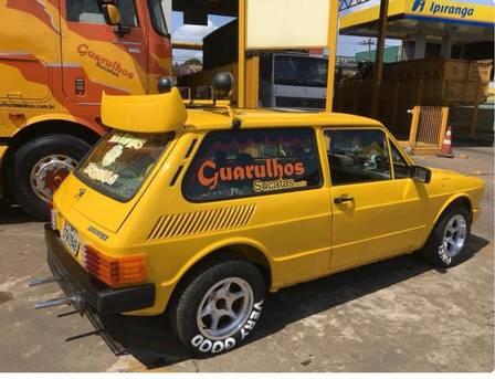 Brasília amarela foi reformada após ir parar em ferro velho