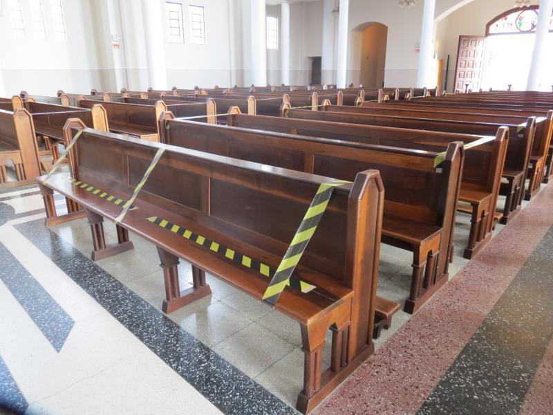 Igrejas cumprem todas as medidas de higiene no Piauí