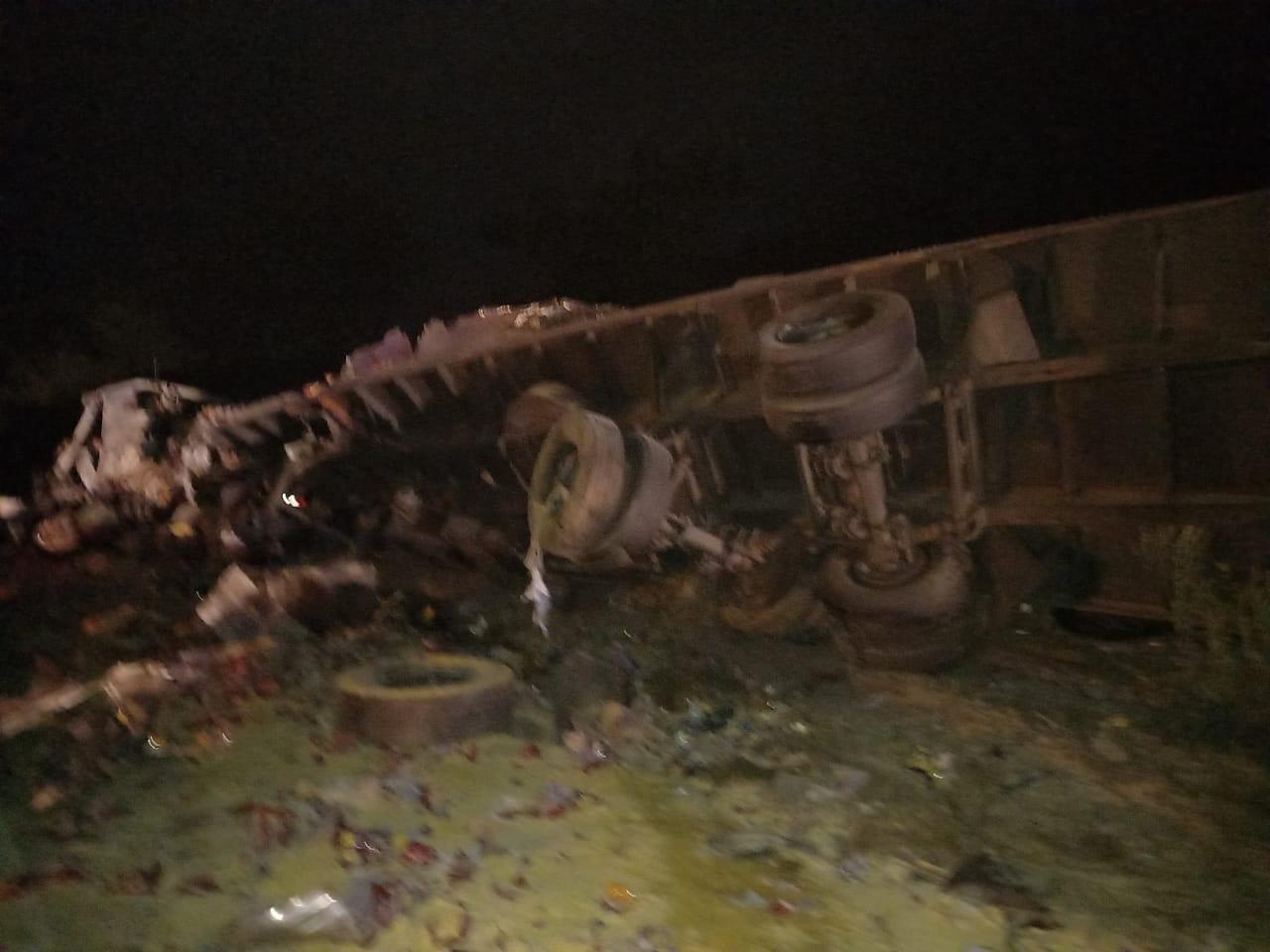 Acidente foi registrado na zona rural de Timon