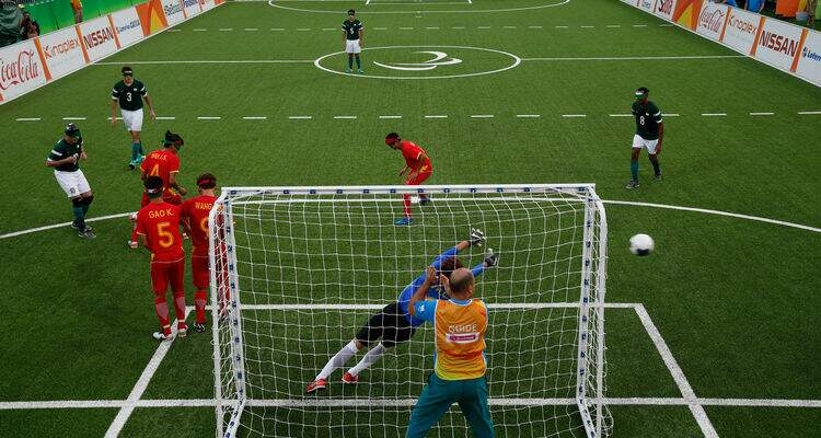 Esporte voltado para os cegos tem destaque nas paraolimpíadas/Wikipedia