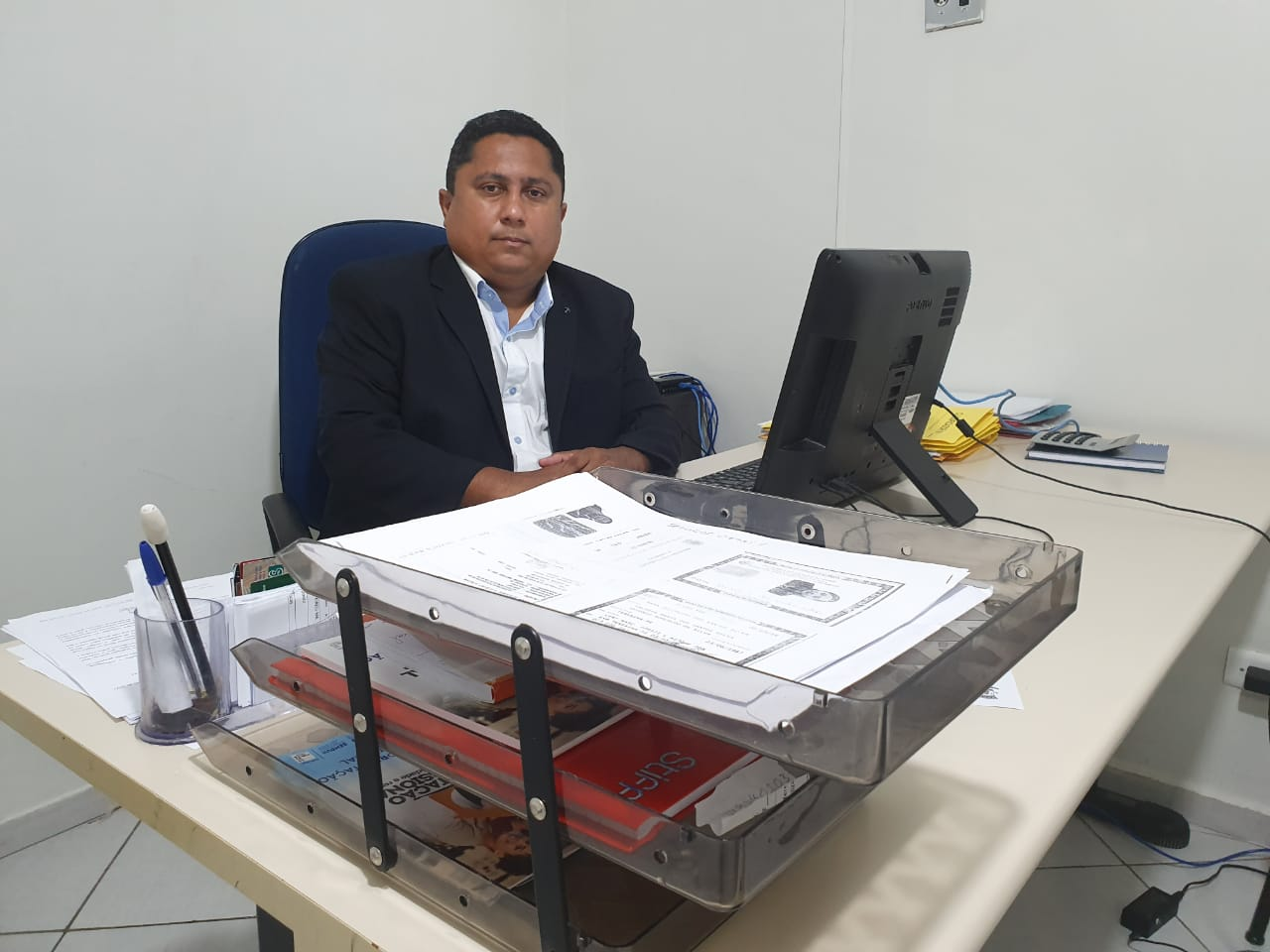 Maycon Oliveira, presidente da Fundação Wall Ferraz