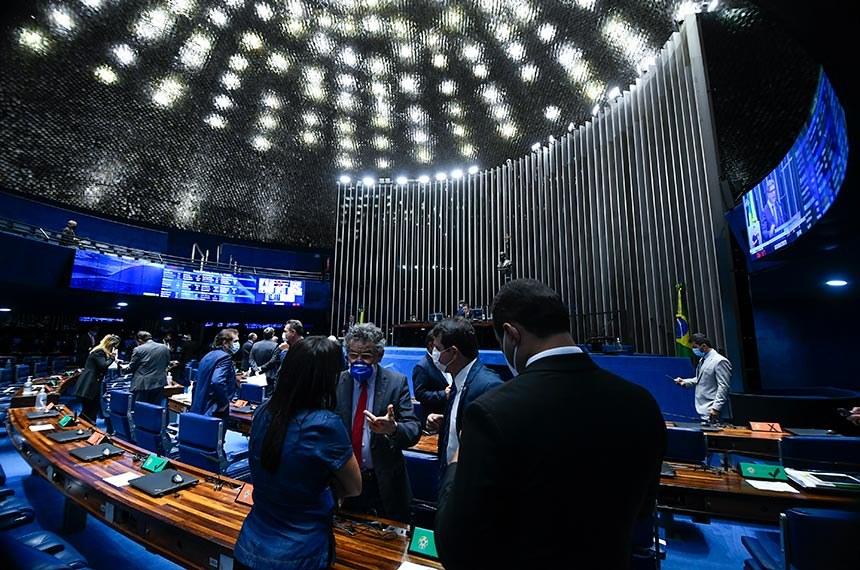 Sendores aprovaram o texto-base por 62 votos a 16 (Foto: Senado Federal)