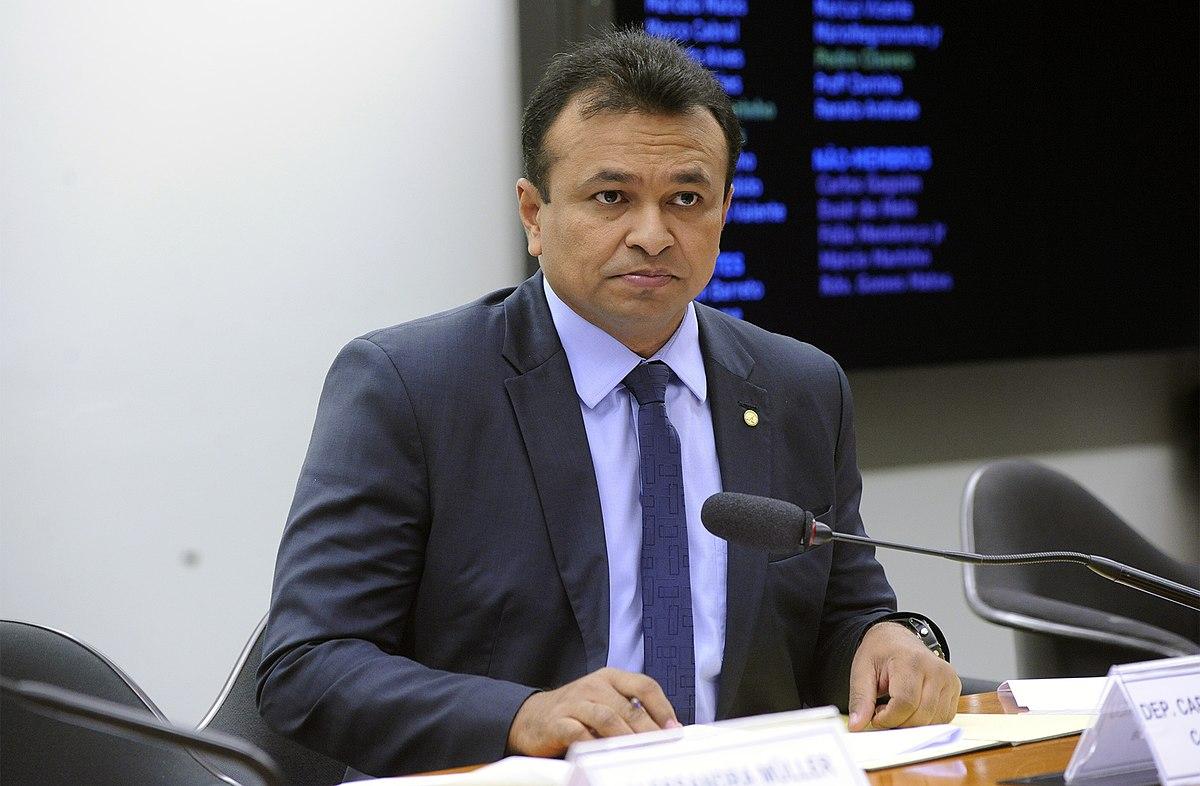 Fábio Abreu pede vacinação prioritária de profissionais da segurança- Foto: Reprodução Câmara