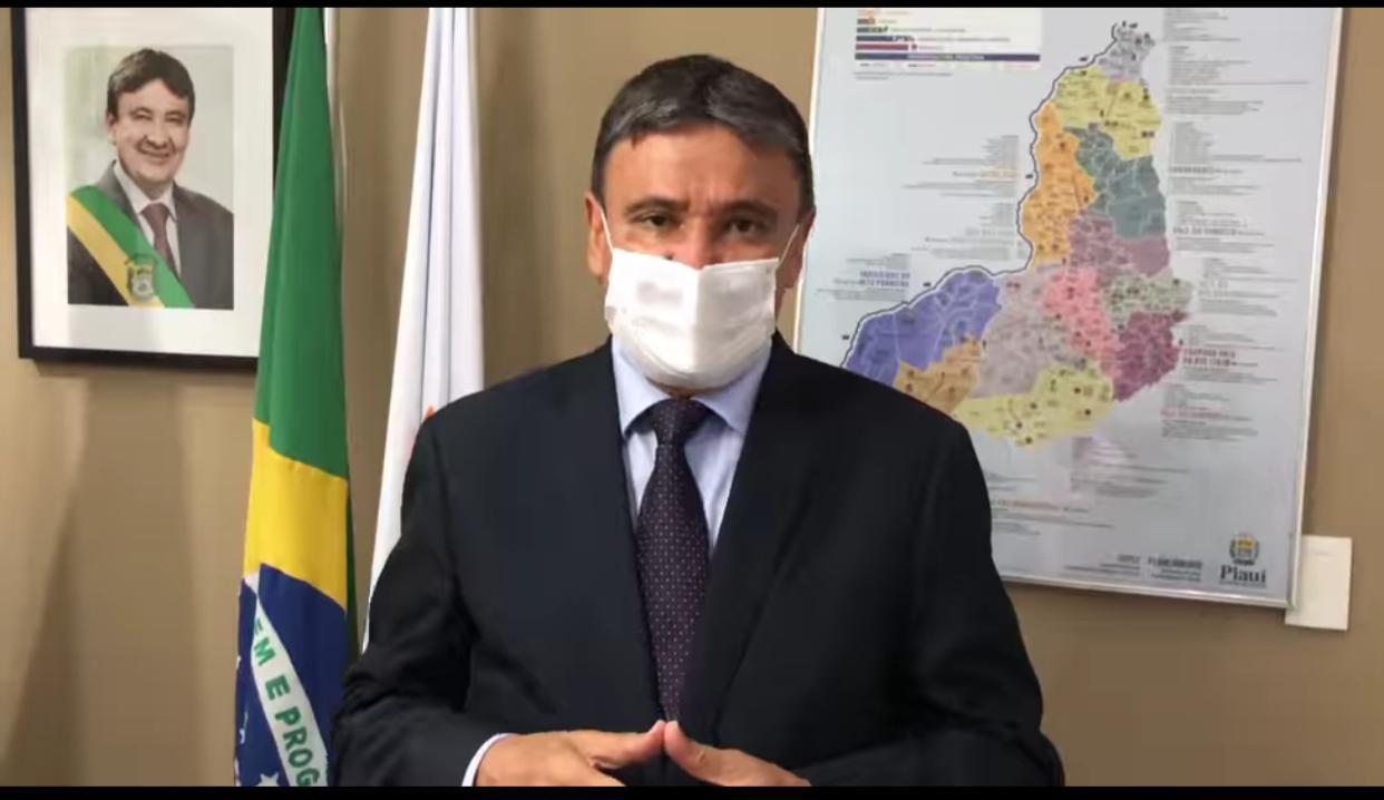 Governador Wellington Dias anuncia prorrogação de medidas restritivas no Piauí