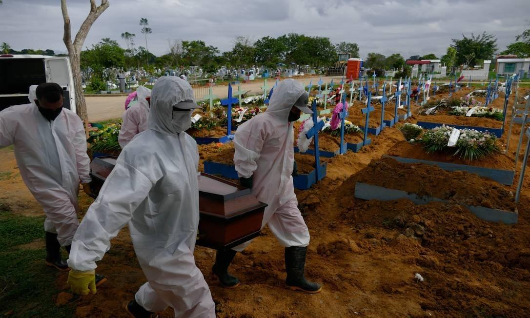 Doença já matou mais de 257 mil pessoas (Foto: O Globo)