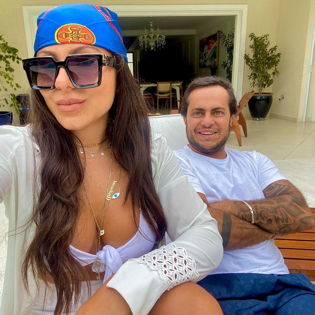 """Andressa flagra mensagem de ex de Thammy e explode: """"Vagabunda, gorda"""" - Imagem 1"""