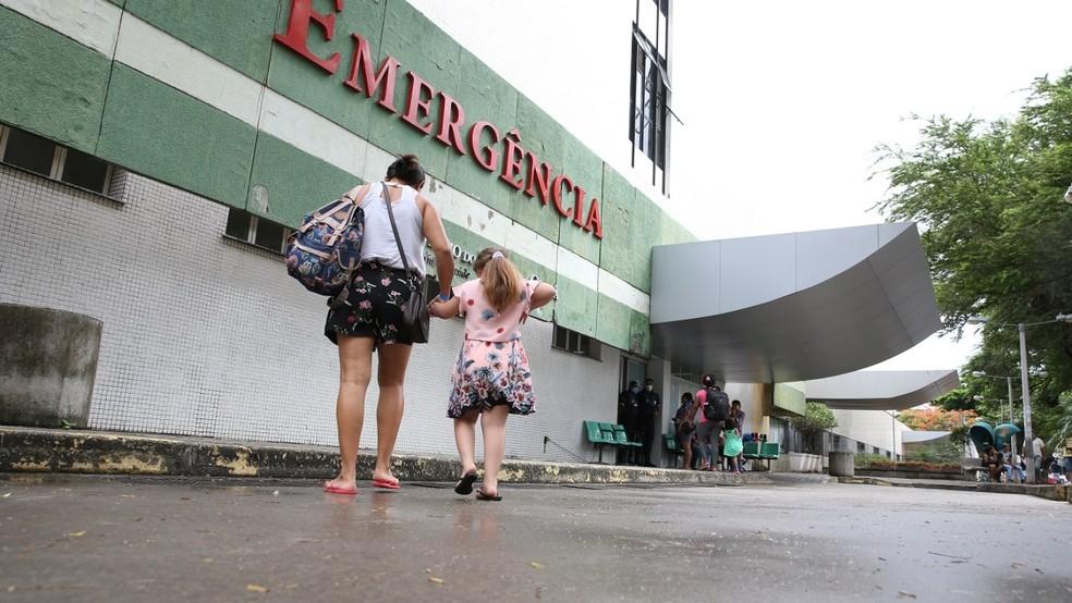 Hospital Cesar Cals (Foto: G1)