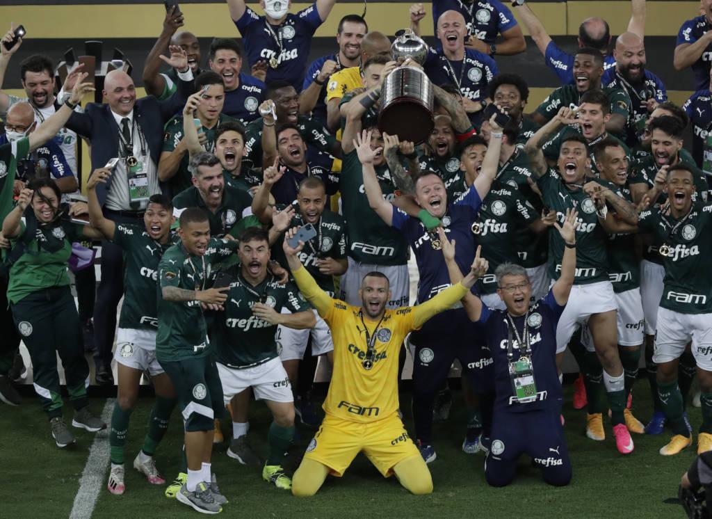 Palmeiras é tetracampeão da Copa do Brasil Foto: Silvia Izquierdo-Pool-AFP