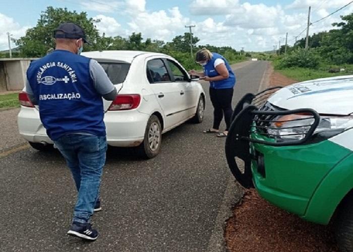 Milton Brandão: instala barreiras sanitárias no feriadão   - Imagem 2