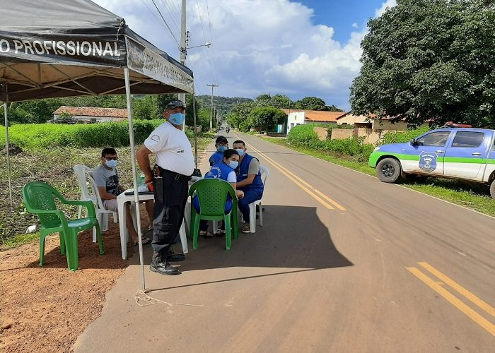 Milton Brandão: instala barreiras sanitárias no feriadão   - Imagem 5