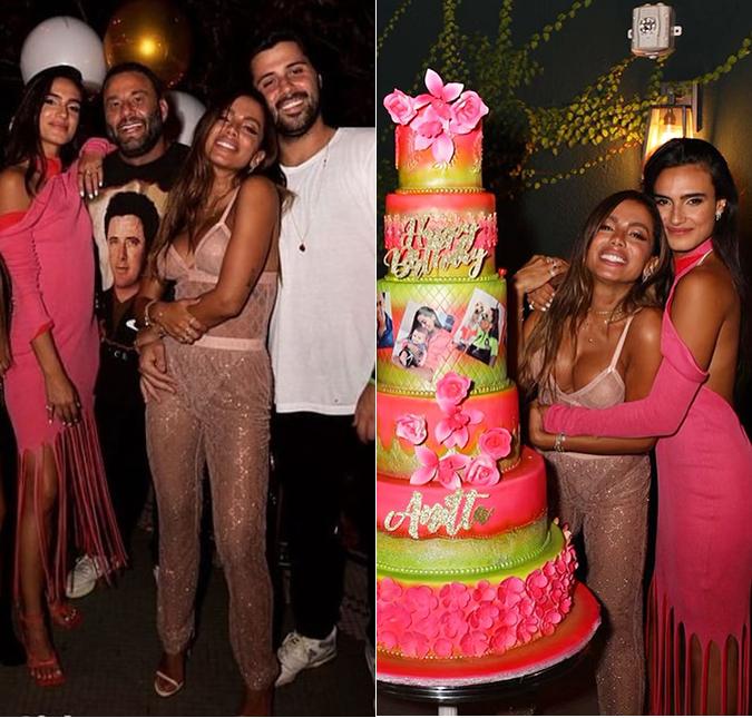 Anitta não para de comemorar e ganha outra festa de aniversário - Imagem 2