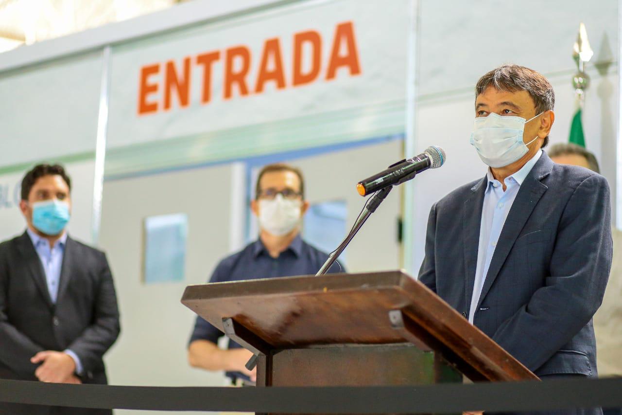 O líder piauiense relata problemática com o cronograma da Astrazeneca (Foto: CCOM)