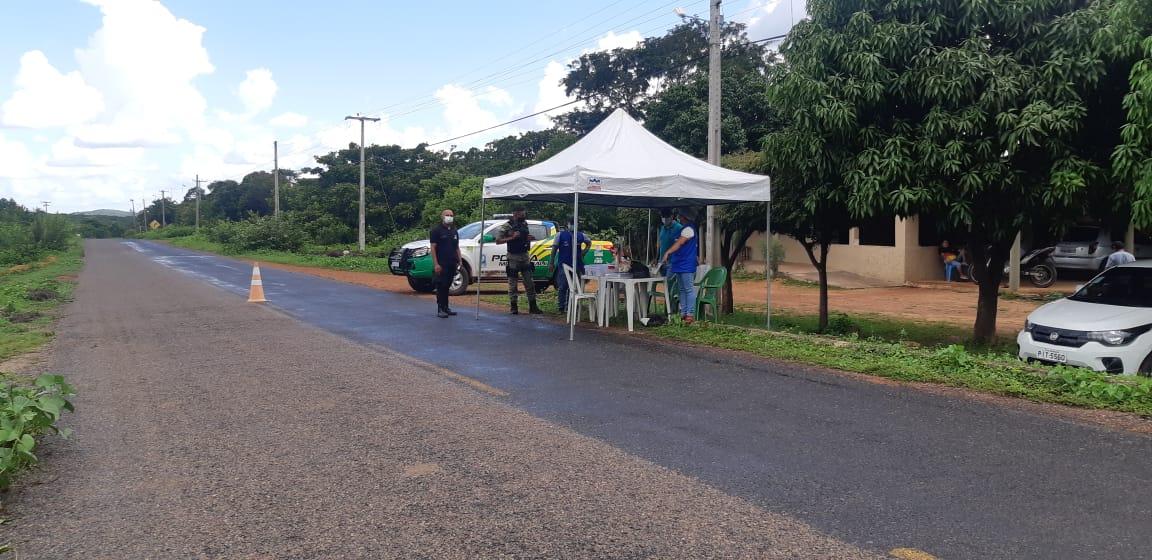 Milton Brandão: instala barreiras sanitárias no feriadão   - Imagem 1