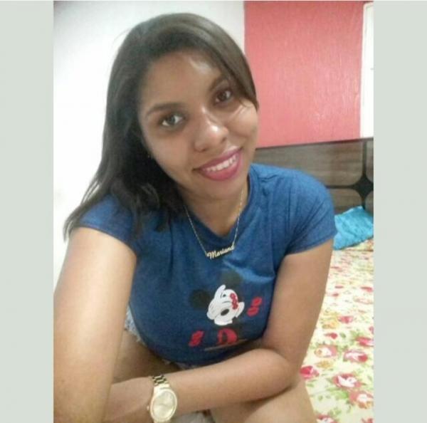 Mariana dos Santos vítima da tentativa de feminicídio (Foto: Reprodução/ WhatsApp)