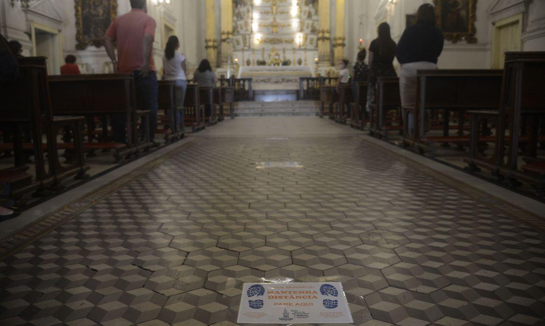 Celebrações religiosas poderão ser realizadas diariamente no Piauí, mas com limitações (Foto: Tânia Rego)