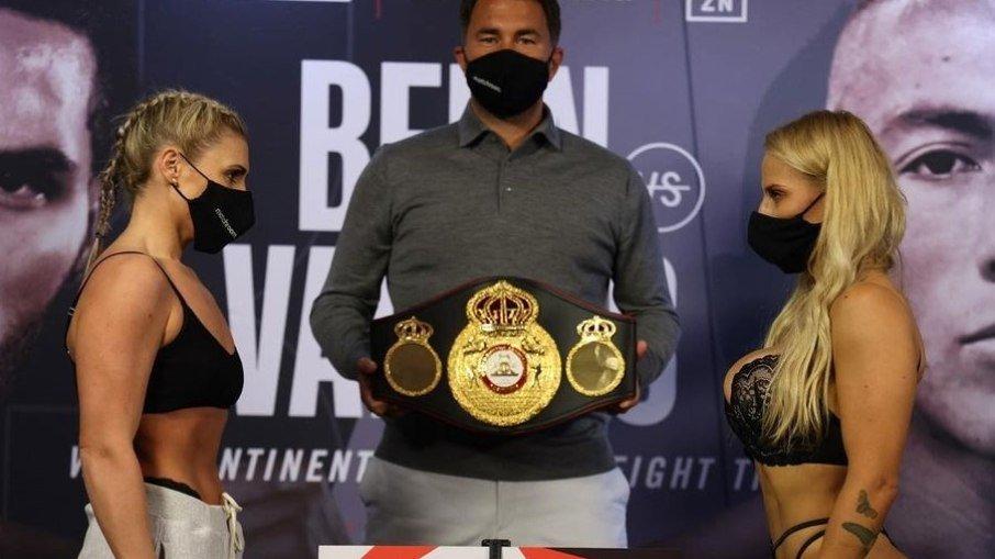 Após pesagem de calcinha, lutadora é castigada e perde no WBA- Foto/Reprodução