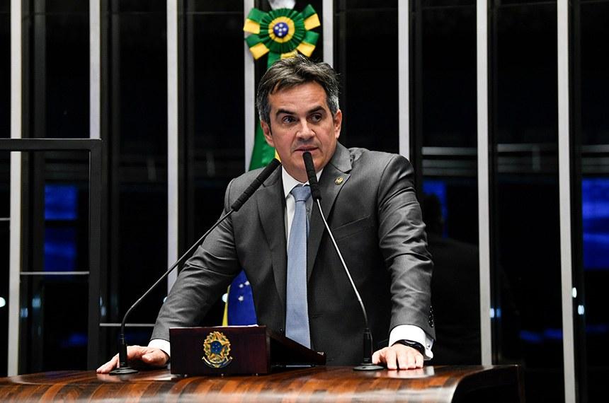 Ciro Nogueira fez um balanço dos valores destinados ao combate à pandemia (Foto: Jefferson Rudy)