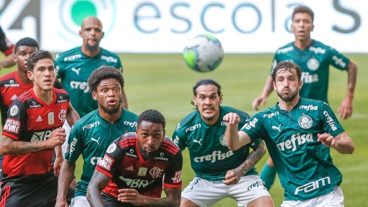 Flamengo e Palmeiras jogam neste domingo pela Supercopa do Brasil- Foto: AGIF