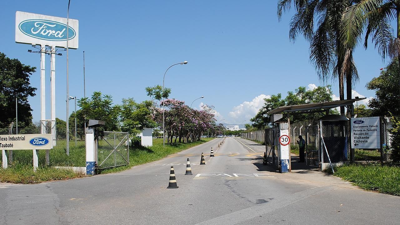 Fábrica da Ford fechada em Taubaté (SP) - Foto: Arquivo Ford