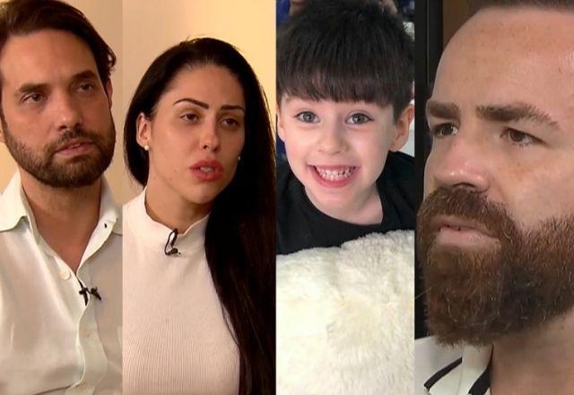 Dr Jairnho e Monique foram presos pela morte de Henry; o pai do menino pede justiça (Foto: Reprodução)