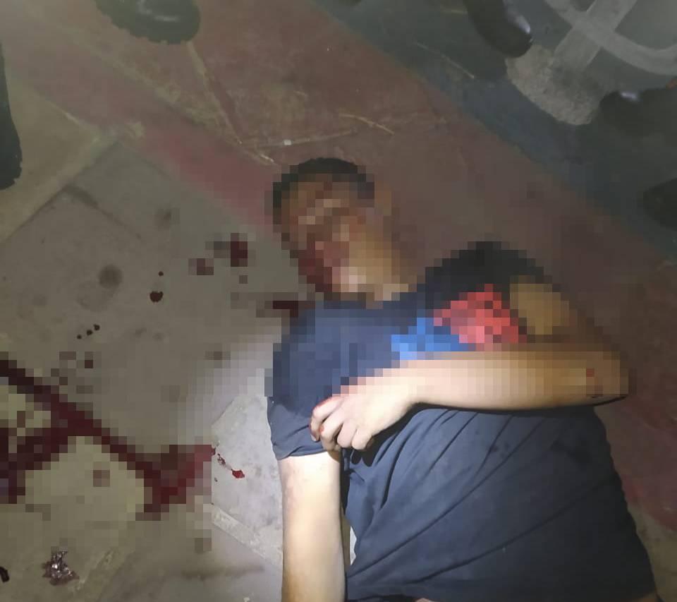 Alex Bruno, jovem morto a tiros no Residencial Petecas III em Piripiri (Foto: Reprodução/WhatsApp)