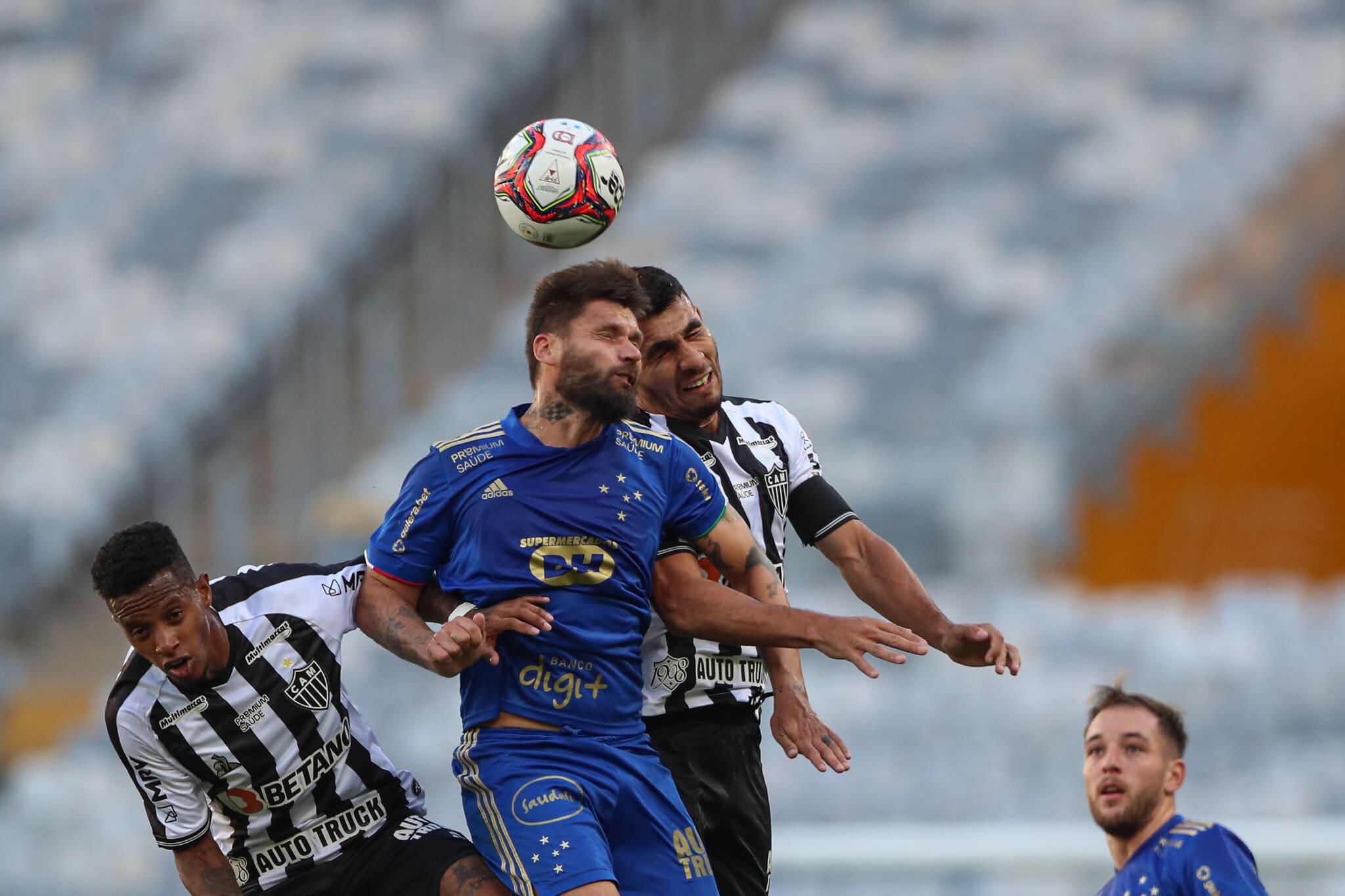 Cruzeiro em jogo contra o Galo (Pedro Souza/Atlético-MG)