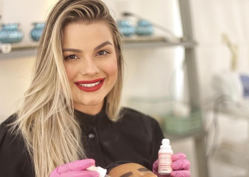 Blogueira Rafaela Braga foi presa acusada de vender cosméticos falsificados