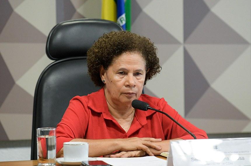 Vice-governadora Regina Sousa participa do lançamento do Cartão Pró-Social (Foto: Pedro França)