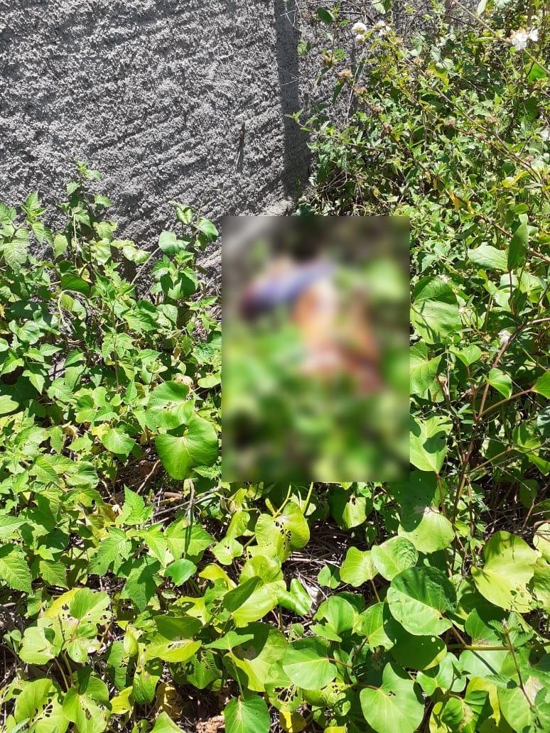 Corpo foi encontrado em um terreno baldio, no bairro São Judas Tadeu | FOTO: Portal do Catita