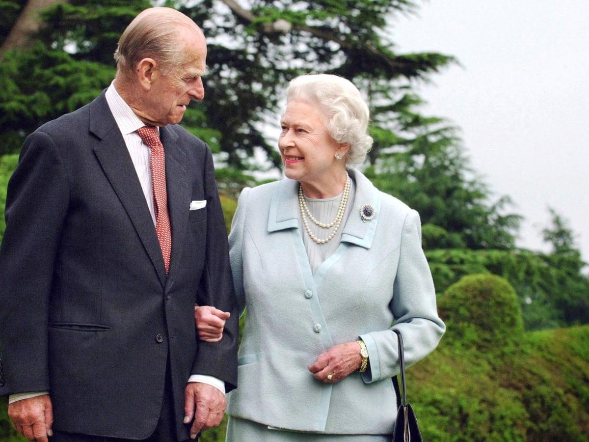 Princip Philip e a rainha da Inglaterra, Elizabeth II - Fiona Hanson/AFP/Getty